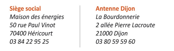 Site - Le Pôle énergie Bourgogne-Franche-Comté