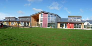 Construction BEPOS du groupe scolaire d'Amancey